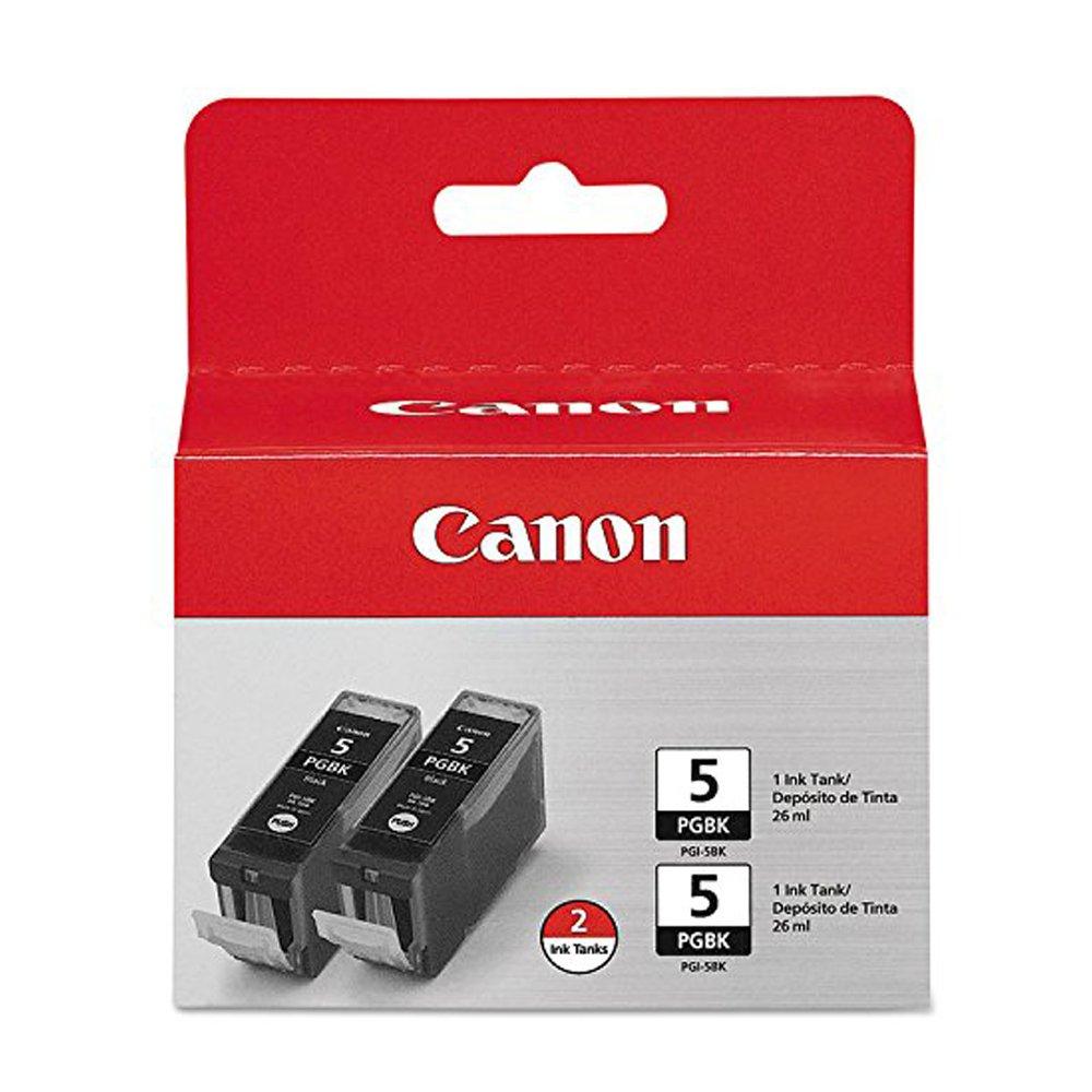 Canon mp510 (pgi-5bk) ブラックインクカートリッジデュアルパック標準Yield B01LVW2W6C