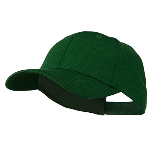 db45be9ddb8 Amazon.com  Youth Athletic Jersey Mesh Cap - Dark Green OSFM ...
