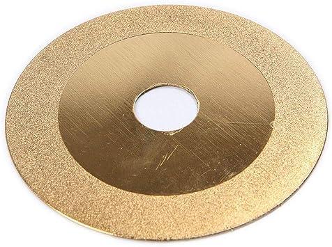Gold 100mm 4inch Diamond Cutting Saw Blade Polishing Grinding Cut Off Wheel Disc
