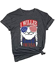 90e0555e8 Have a Willie Nice Day Shirt Womens Casual Willie Nelson Graphic Tees Lady  Summer Short Sleeve