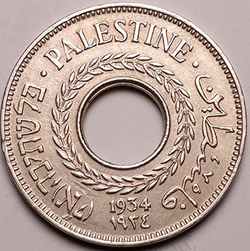 PALESTINE 1934 5 MILLS SCU323PP.....WORLDWIDE COIN - Palestine Coin