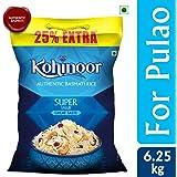 Kohinoor Super Value Basmati Rice, 5 Kg + 25% Extra