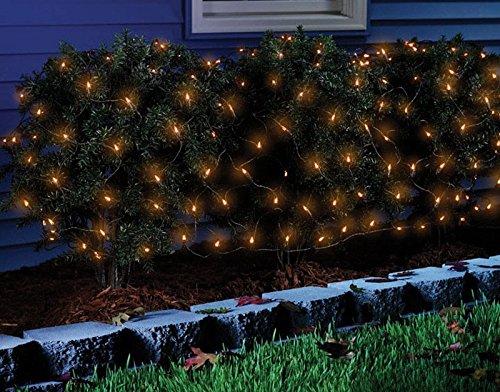Celebrations 34090-71 Halloween Net Light 4'x4', Orange