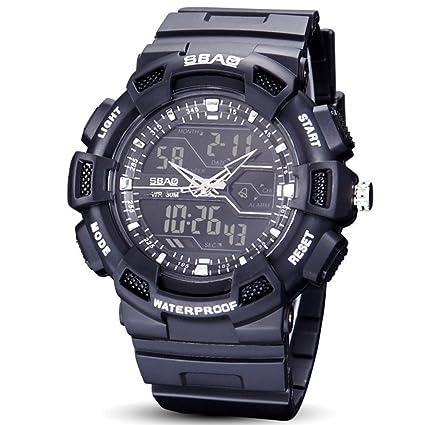 WENY Reloj de Pulsera para Hombre Reloj Inteligente Pulsera Reloj Militar Reloj Vestido Reloj Moda Reloj