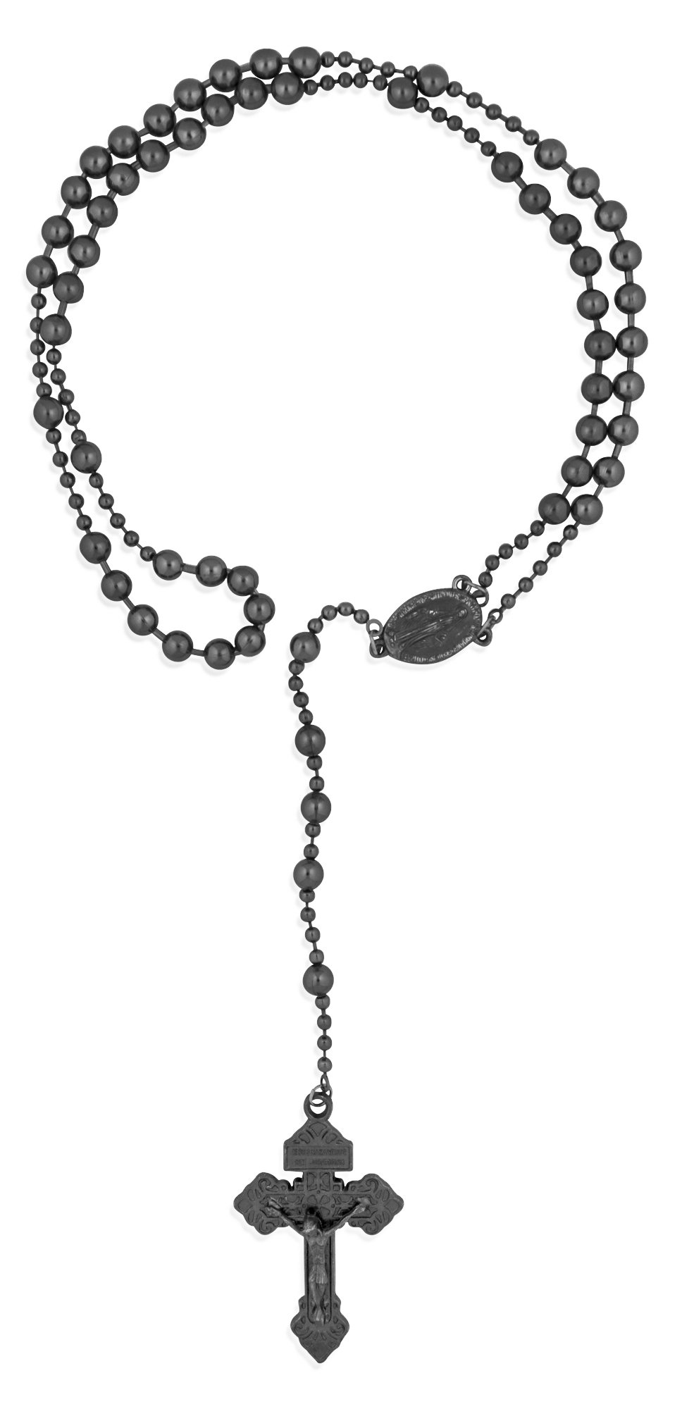Soldier of God Military Rosary by Venerare (Gunmetal) by Venerare