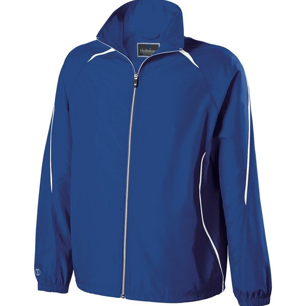 Holloway Youth Invigorate Jacket (Medium, Royal/White) by Holloway
