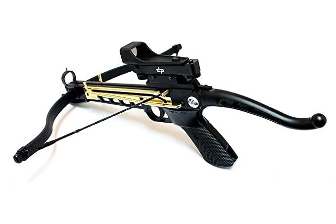 80lbs Self Cocking Crossbow with 15 Arrows and Scope