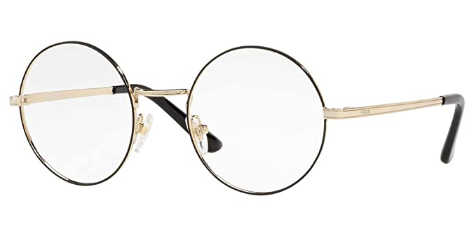 Vogue VO 4086 BLACK PALE GOLD women Eyewear Frames: Amazon.co.uk ...