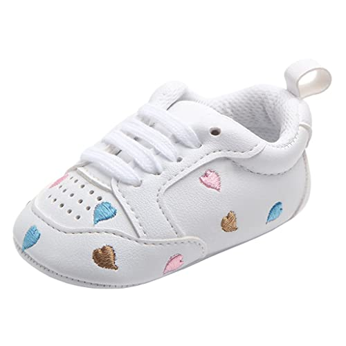 Annnowl Baby Girls Sneakers Canvas Shoes SIZE: 0-6 Months