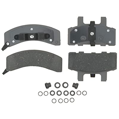 ACDelco 14D369CH Advantage Ceramic Front Disc Brake Pad Set with Hardware: Automotive