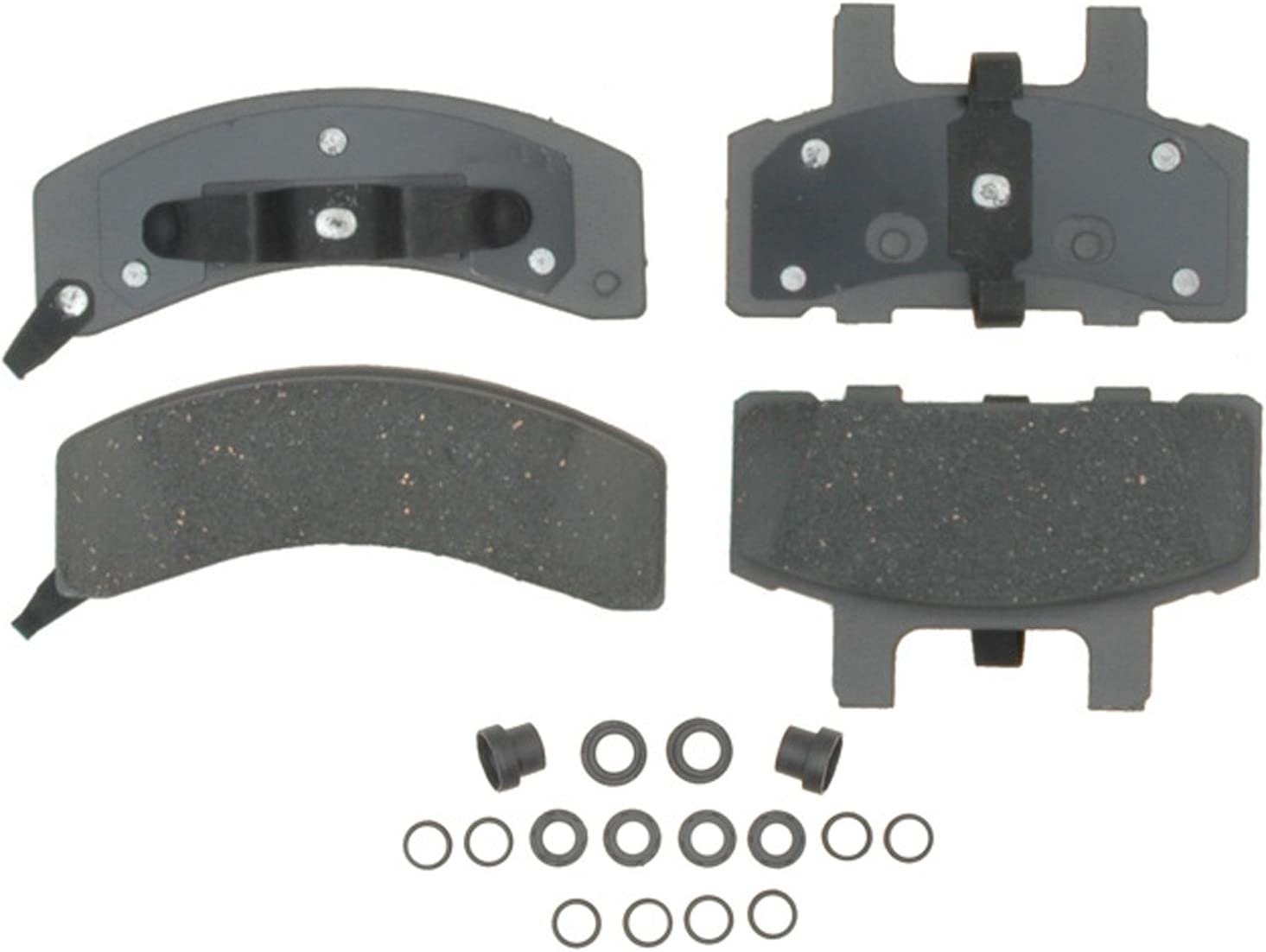 ACDelco Advantage Ceramic Front Disc Brake Pad Set