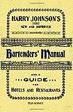 Harry Johnson's Bartenders Manual 1934 Reprint