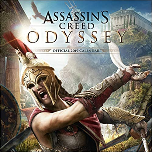 Assassin's Creed Game Official 2019 Calendar - Square Wall Calendar Format