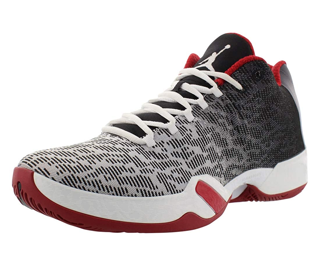 buy online 10267 77221 Amazon.com   Men s Air Jordan XX9 Low Basketball Shoes White Black Gym Red  10.5 D(M) US   Basketball