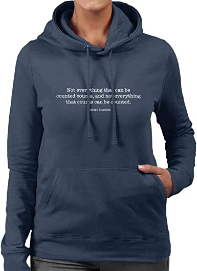 Not Everything That Can Be Counted Counts Albert Einstein Quote Kids Sweatshirt