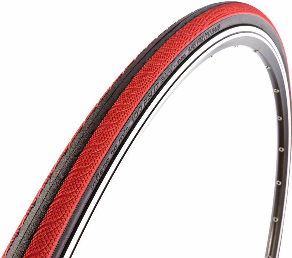 Vittoria Rubino - Neumático para Rueda de Bicicleta Multicolor Negro/Rojo Talla:700x23: Amazon.es: Deportes y aire libre