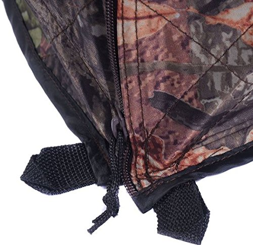 K&A Company Ground Hunting Blind Portable Deer Pop Up Camo Hunter Outdoor New Waterproof 2-3 Person Storage Bag by K&A Company (Image #4)