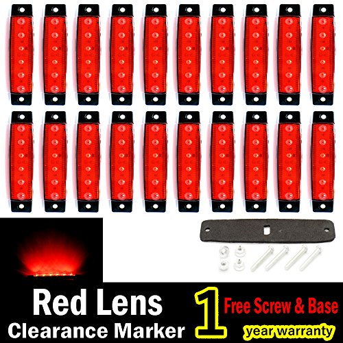 Led Side Marker Lamp ((Pack of 20) LEDVillage 20 Pcs 3.8