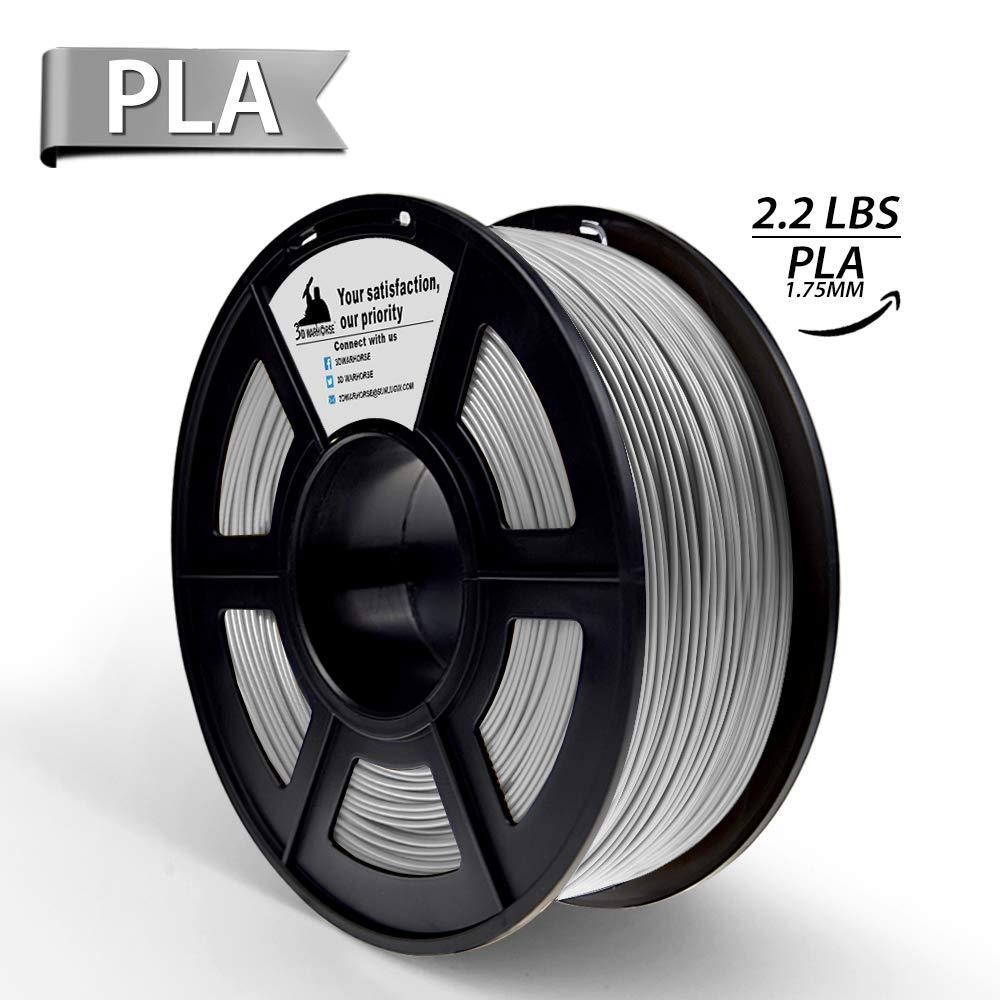 Blau PLA 3D-Filament, 3D Druckmaterialien, Maß genauigkeit +/- 0,02 mm, 1.75 mm, 2.2 LBS (1 kg) Spool sunlu UK-HO-PLA-Blue