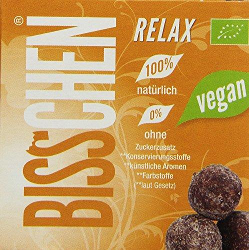 Bisschen Relax Fruchtkugeln vegan, 4er Pack (4 x 100 g)