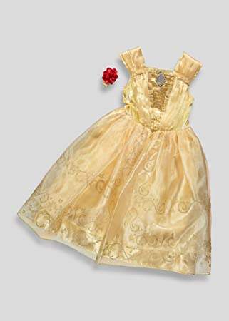 Officially licensed Disney Princess Belle fancy dress. Girls Costume ...