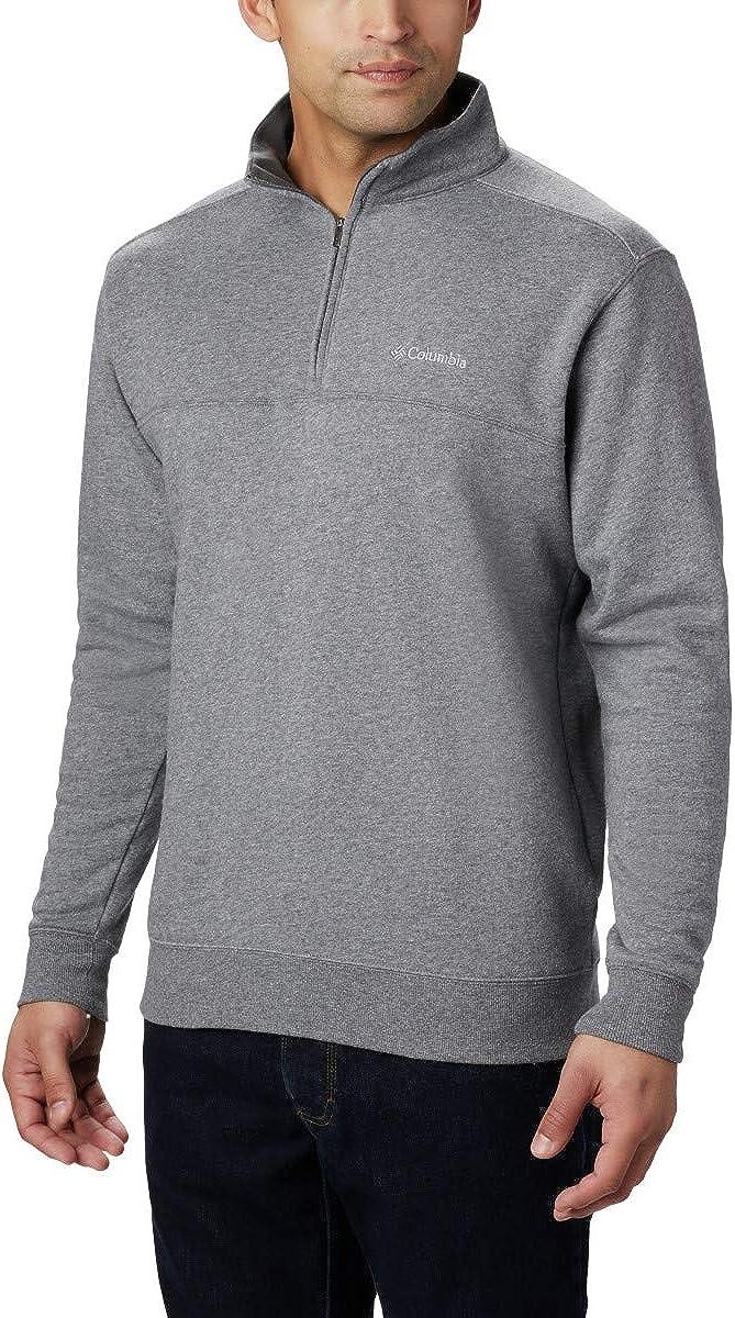 Columbia Men's Hart Mountain II Half Zip Jacket: Clothing