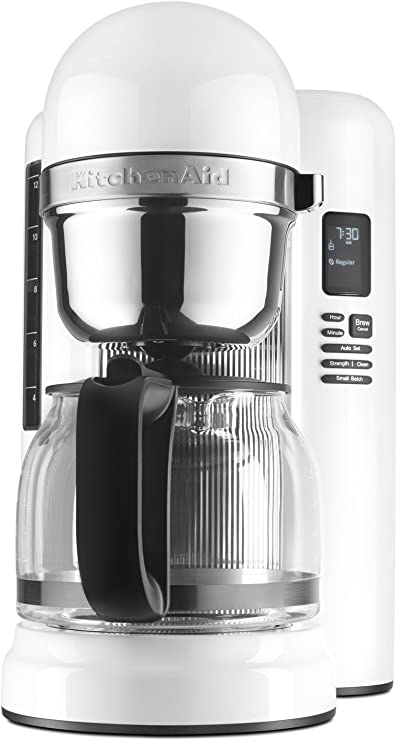 KitchenAid KCM1204WH 12 Cup Coffee Maker With