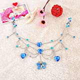 Generic Pop princess chain forehead children small gripper chain diamond crown tiara dance headdress bride dish hair hair accessories