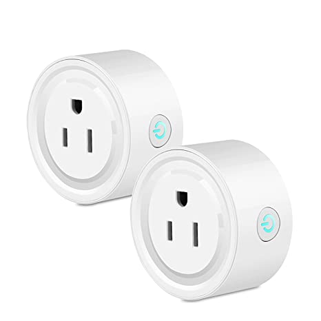 Smart WiFi Plug Outlet Compatible with Alexa, LinkStyle 2