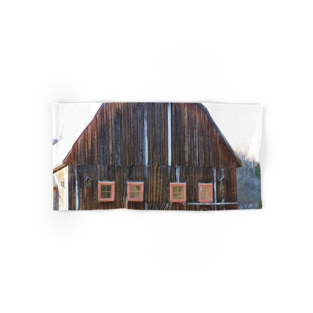 Society6 Rustic Old Country Barn Hand Towel 30''x15''
