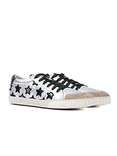 88fbed46dea6b Ash Womens Majestic Silver Trainers: Amazon.co.uk: Shoes & Bags