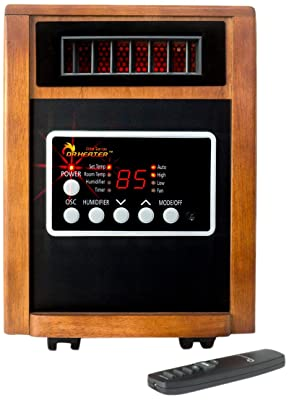 Dr Infrared Heater DR998, 1500W, Advanced Dual Heating System