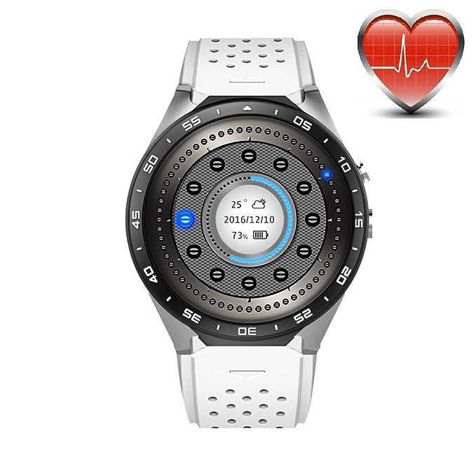 KW88 3G WiFi Smart Watch Teléfono móvil Todo en uno ...