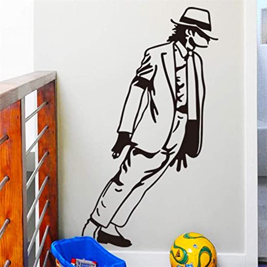 Amazon.com: Bdhnmx Creative Dancing Wall Decals Bedroom Boy Girl Fans Home Decor Vinyl Wall Stickers Music Handsome Gift Poster: Baby