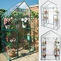 Giantex Portable Mini Walk In Outdoor 3 Tier 6 Shelves Greenhouse