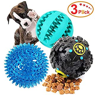 Vitscan Cat's ove Treat Ball Toy Enhance IQ Toys for Dogs Cat Food Dispenser Toy Treat Ball Dog Toy Interactive Cat Toy Food Smart Iq Treat Ball Interactive Food Dispenser for Cats or Puppies (Black)