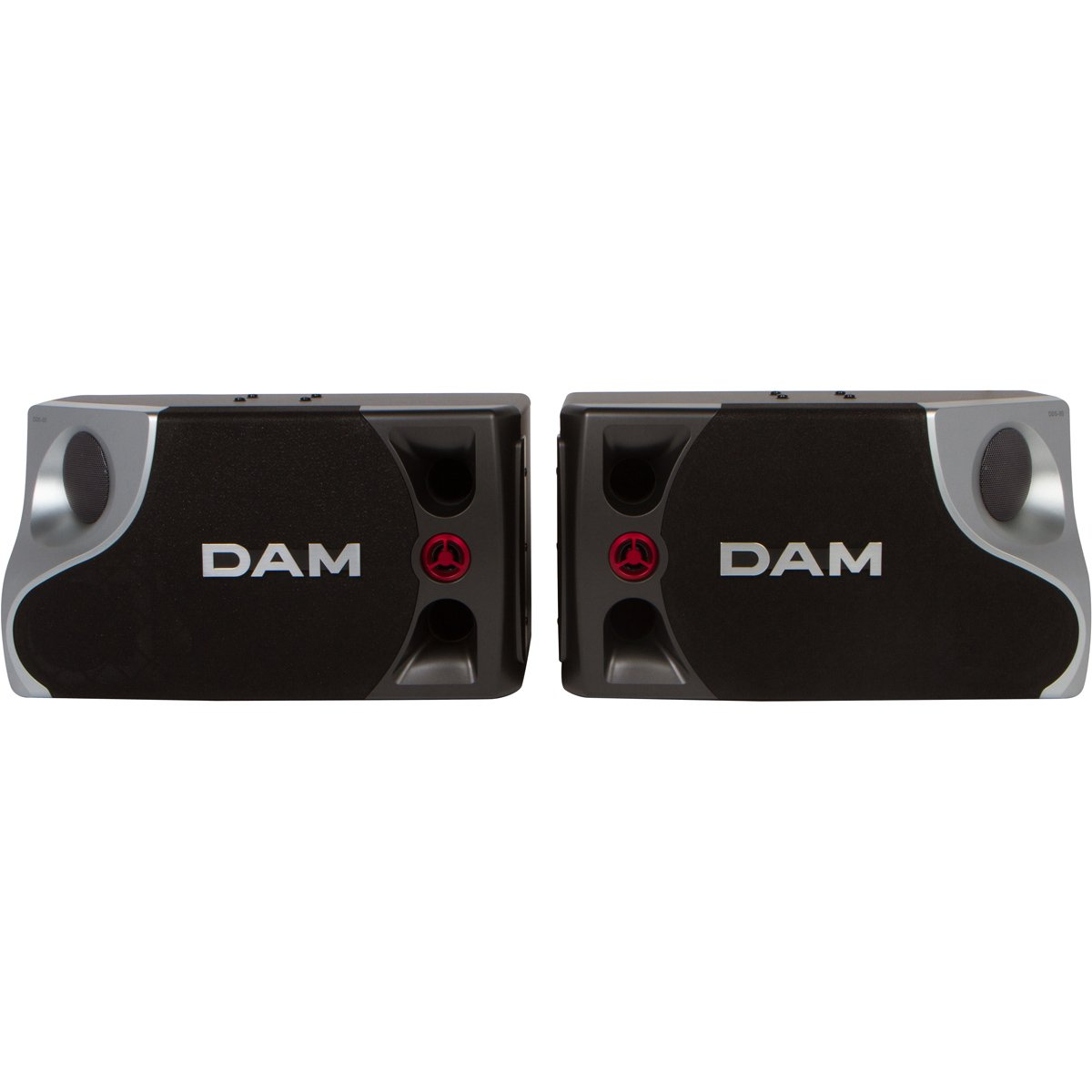 DAM DDS-80 8'' 250W 3-Way Karaoke Speakers (Pair) by DAM