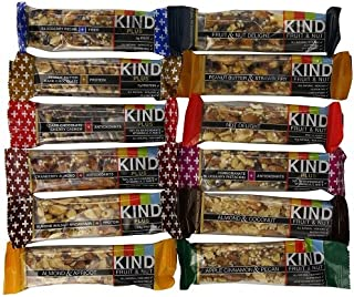 product image for Kind Bars Variety Pack, 12 Different Flavors, 1.4oz bars