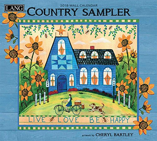 Country Sampler 2018 Calendar: Includes Downloadable Wallpaper