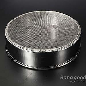 chinamart 18cm Diameter Stainless Steel 40 Mesh Flour Sifter