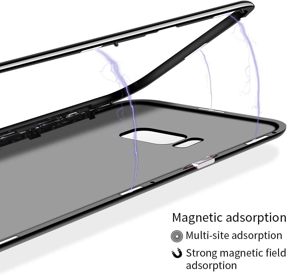 Caler Coque de Protection pour iPhone 8//iPhone 7 avec Film Protecteur d/écran en Verre tremp/é 9H Anti-Chocs