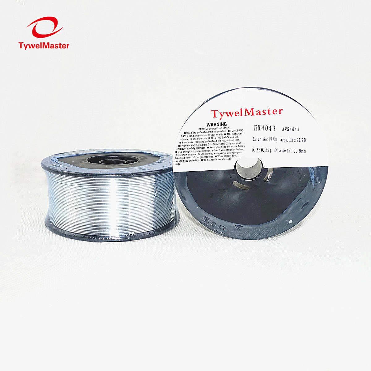 0,5 kg de di/ámetro, 0,8//1,0//1,2 mm AWS A5.10 ER5356 Alambre de soldadura MIG de aluminio para soldadura TIG MIG