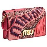 Miu Miu Women's 5BF0662BO7F0028 Pink Leather Clutch