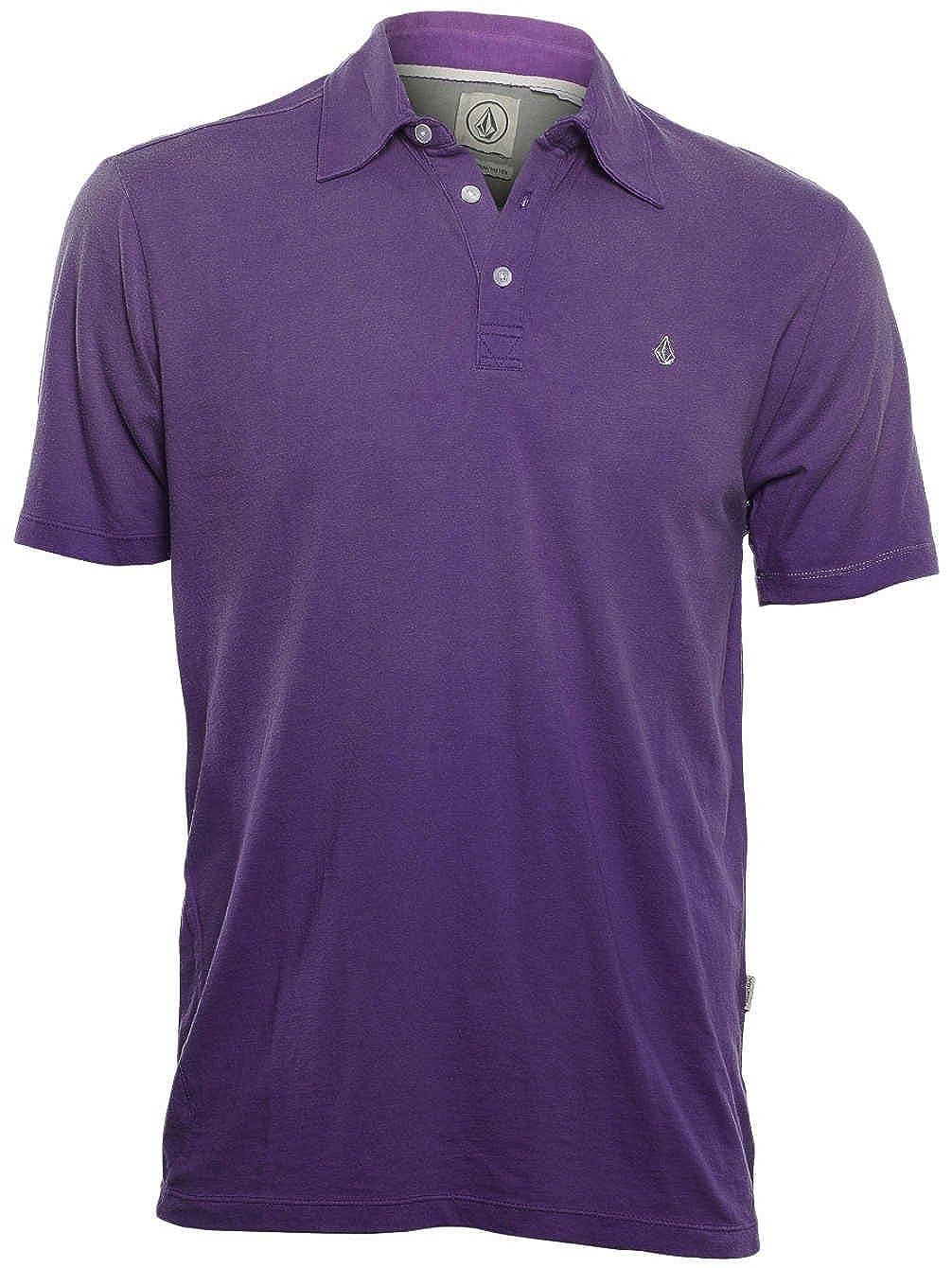 Polo Shirt Volcom Wowzer Faded Morado Passion Europe (S , Morado ...