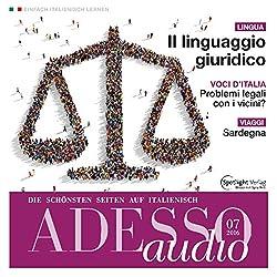 ADESSO audio - Il linguaggio giuridico. 7/2016