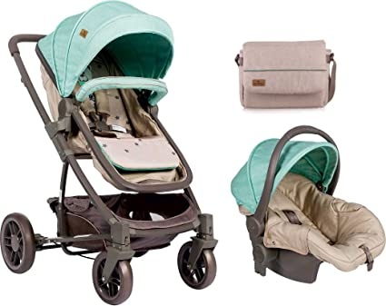 Lorelli 10020851848 cochecito 2 en 1 S500 Set Verde