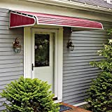 1500 Series Aluminum Door Canopy with Sidewings