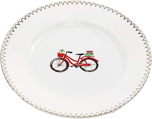 Martha Stewart Collection Ski Salad Plate