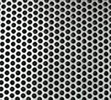 "22g Perforated Stainless Steel Sheet - 18"" x"
