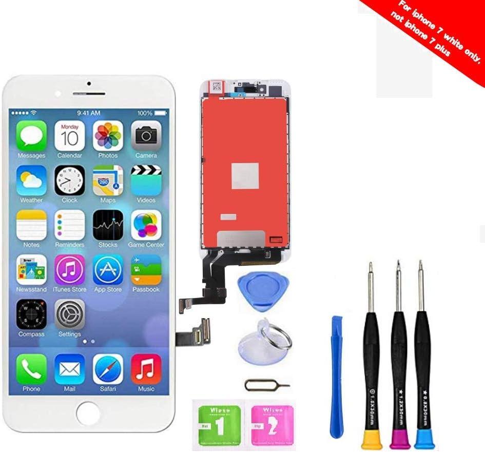 Pantalla táctil digitalizador para iPhone 7 (Blanco)